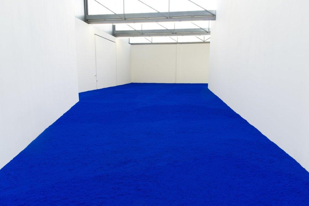 Pigment pur, Yves Klein