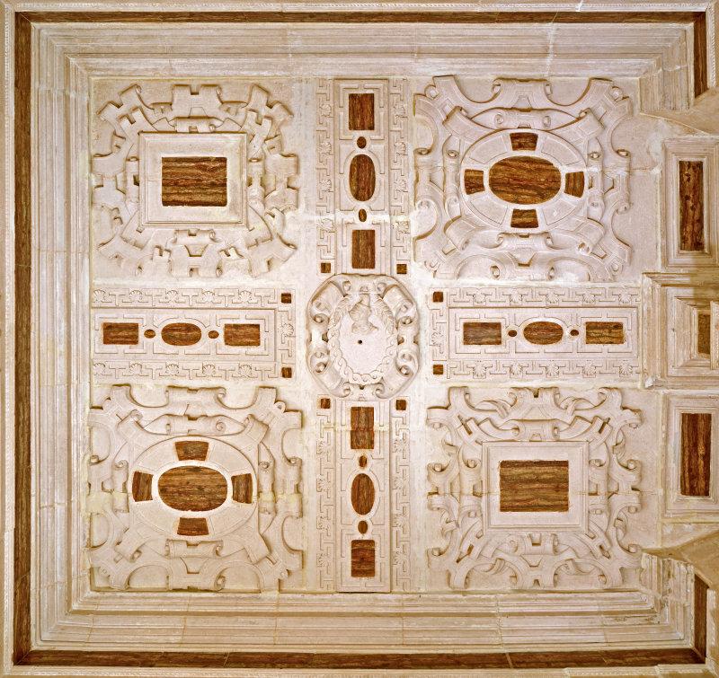 Plafond du cabinet de la maison Renaissance
