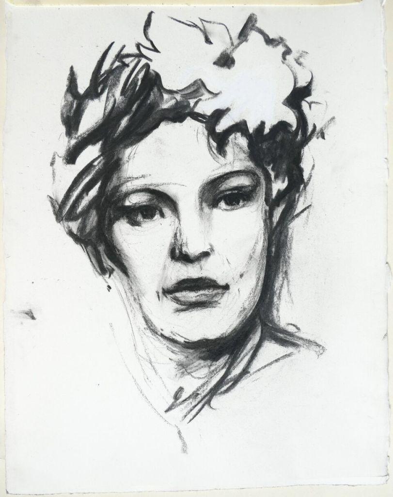 Portrait Billie Holliday E. Pignon-Ernest