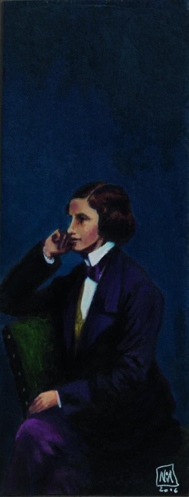 portrait de Lewis Carroll