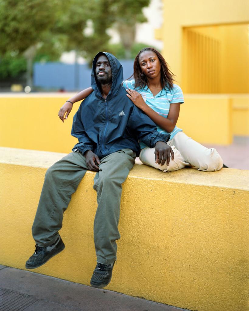 Reginald and Nicole, Los Angeles, CA, 2007, de la série Touching Strangers