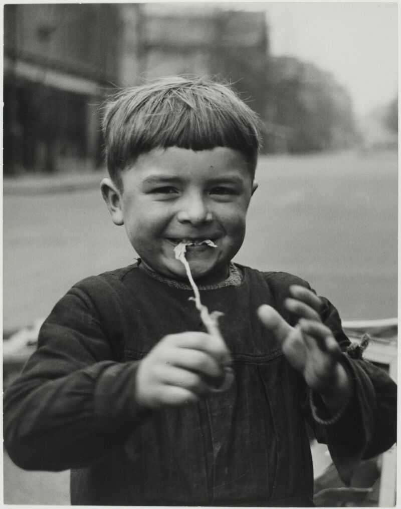 Sabine Weiss, Enfant, Paris, France, 1952