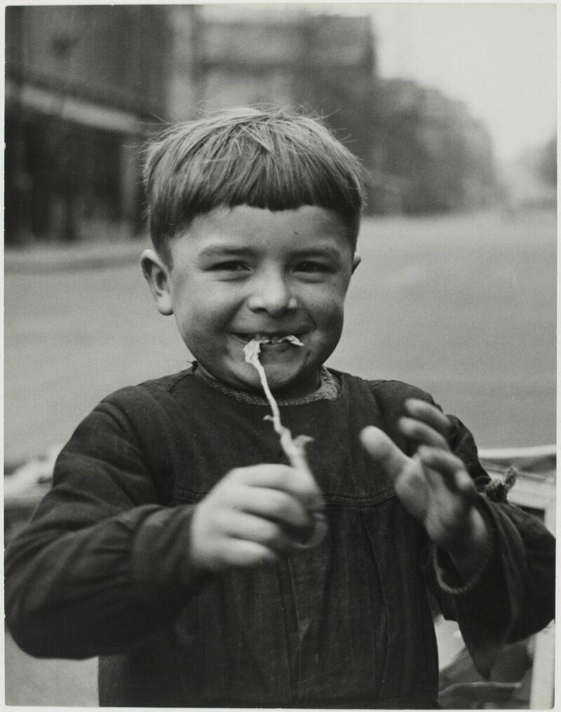 Sabine Weiss, Enfant, Paris, France, 1952
