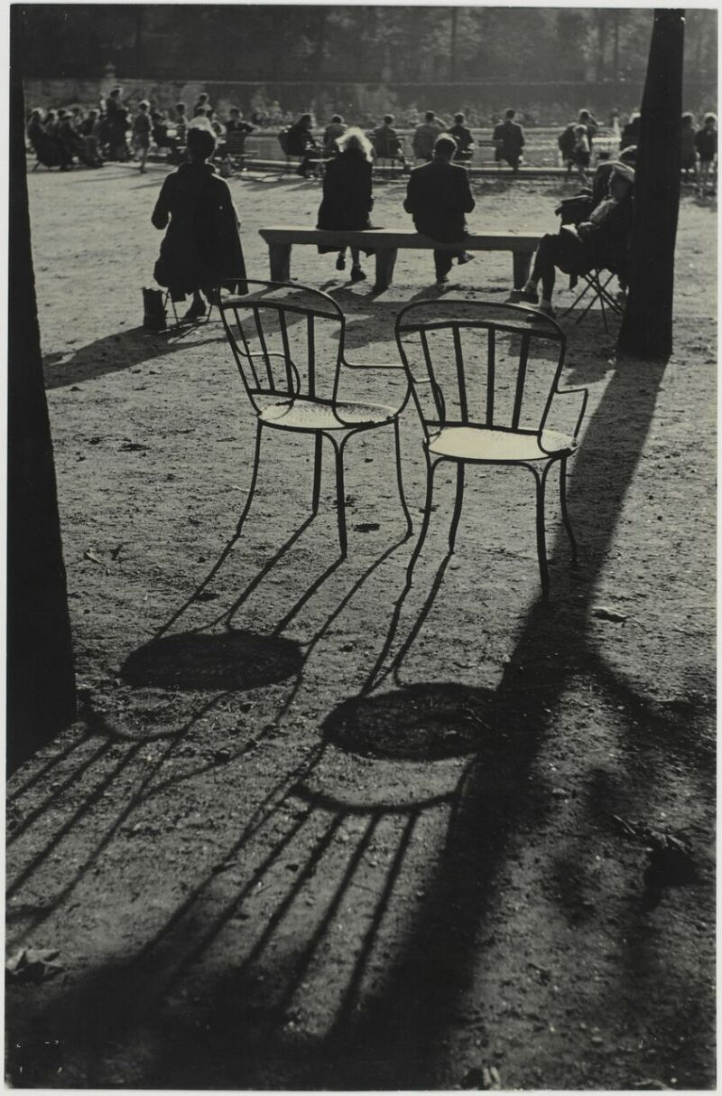 Sabine Weiss, Jardin du Luxembourg, Paris, France, 1952