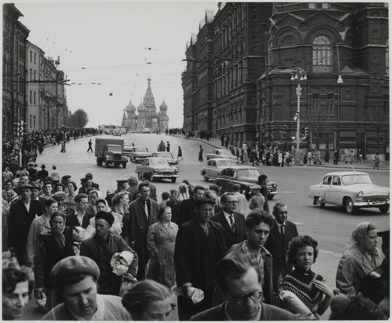Sabine Weiss, Moscou, URSS, 1961