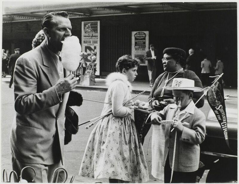 Sabine Weiss, New York, Etats-Unis, 1955