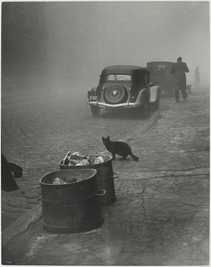 Sabine Weiss, Petit matin brumeux, Lyon, France, 1950