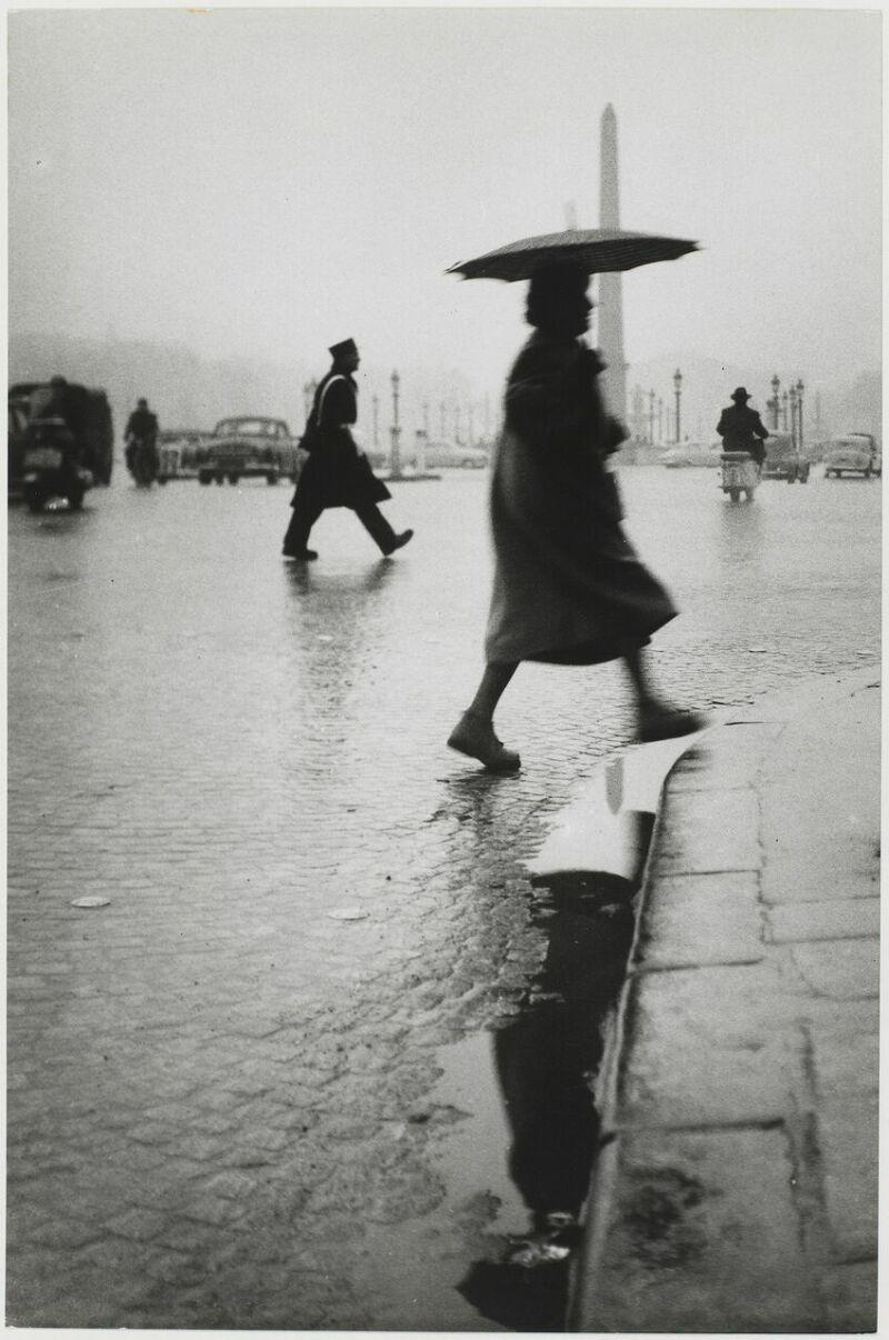 Sabine Weiss, Place de la Concorde, Paris, France, 1953