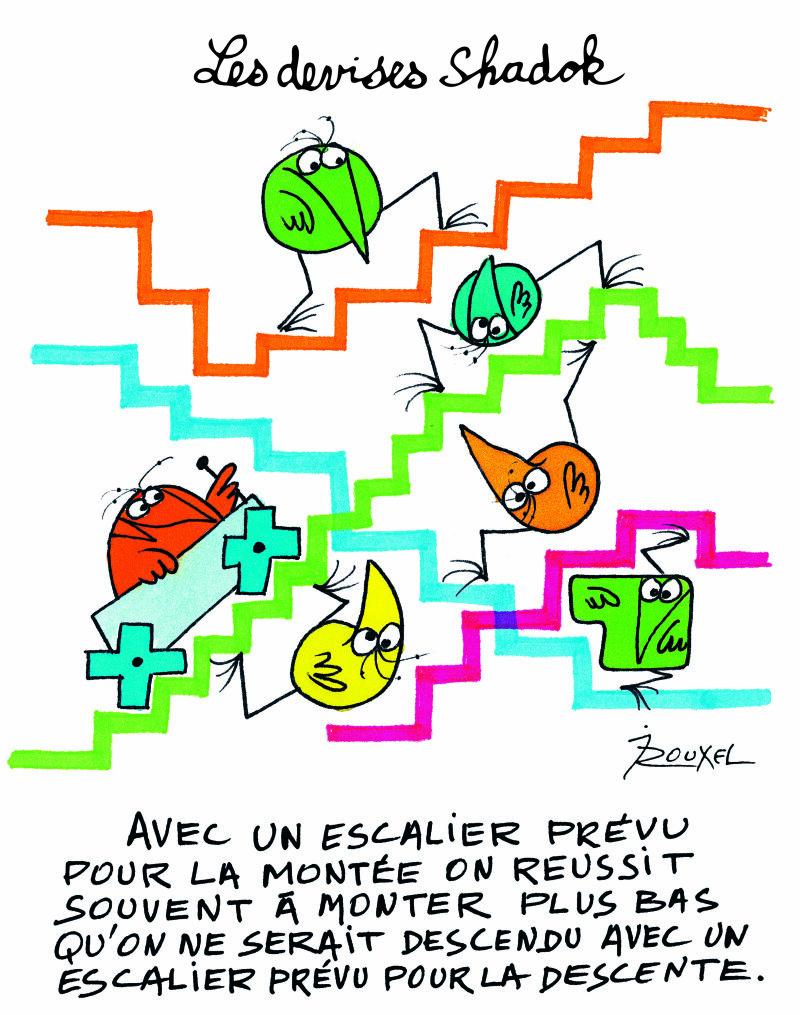 Jacques Rouxel, Les Shadoks