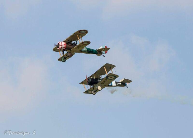 avions Sopwith et Nieuport