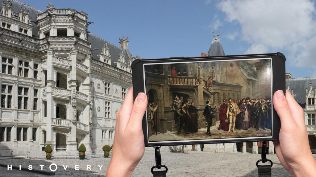 Tablette Histovery du Château Royal de Blois