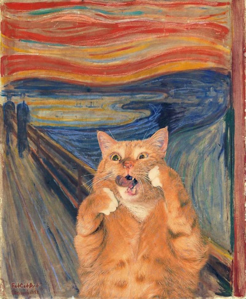 Munch, Le cri