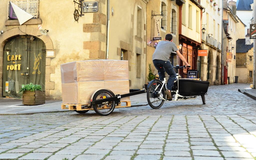 Vélo cargo et BicyLift3