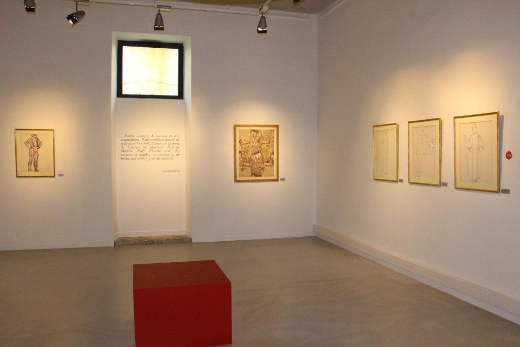 Vue de l'exposition De Renoir à Picasso - Musée d'Art Contemporain de Montélimar