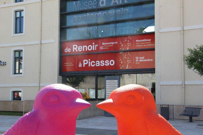 Vue de l'exposition De Renoir à Picasso - Musée d'Art Contemporain de Montélimar (3)_preview