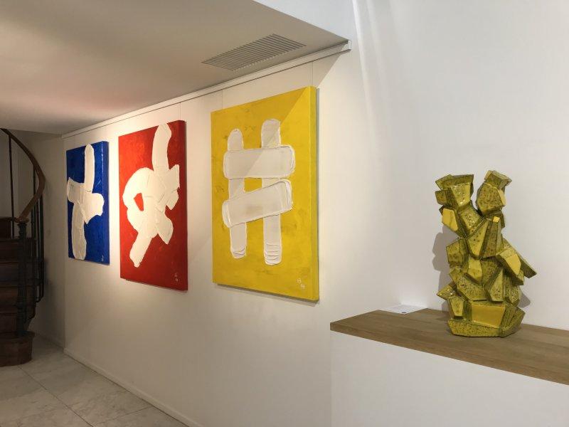 Vue de l'exposition Dolce Vita - Galeries du Carré Rive Gauche (16)