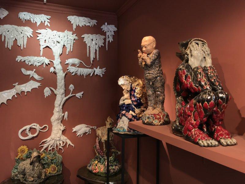 Vue de l'exposition Dolce Vita - Galeries du Carré Rive Gauche (44)
