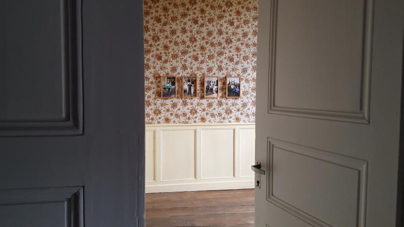 Vue de l'exposition En Marge, Benoît Luisière - Memento, Auch