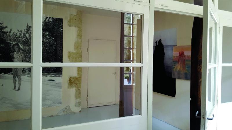 Vue de l'exposition En Marge - Memento, Auch