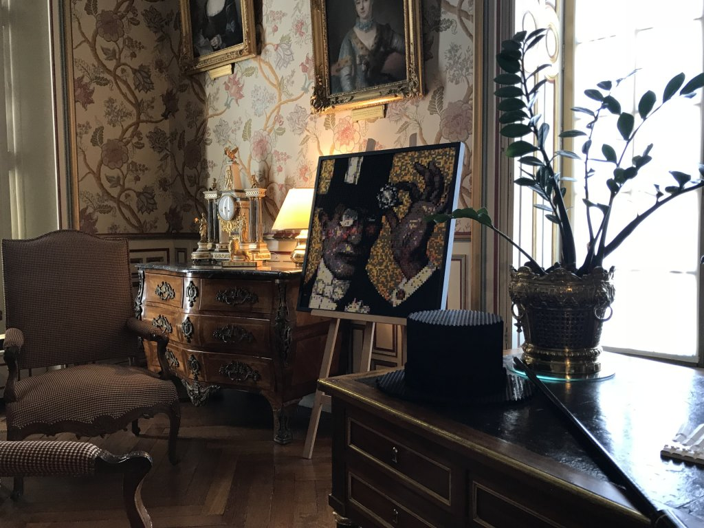 Vue de l'exposition Enquête au Château - Château de Cheverny