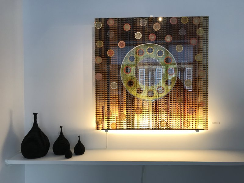 Vue de l'exposition Face à Face - Galerie Minsky