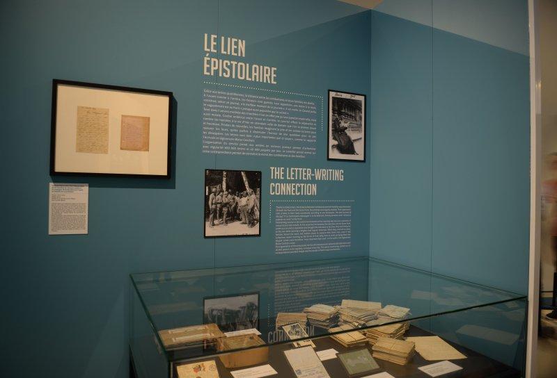 Vue de l'exposition Familles à l'épreuve de la Grande Guerre - Musée de la Grande Guerre, Meaux