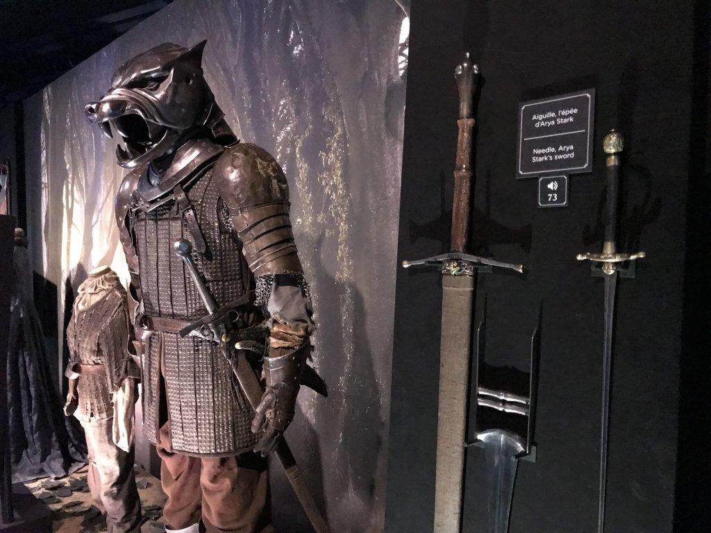 Vue de l'exposition Game of Thrones - Paris Expo Porte de Versailles (13)