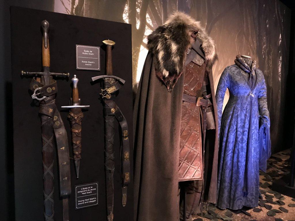 Vue de l'exposition Game of Thrones - Paris Expo Porte de Versailles (14)