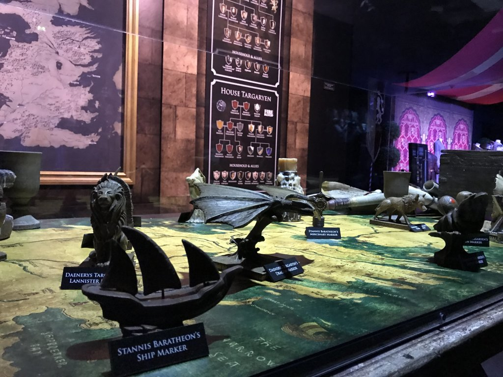 Vue de l'exposition Game of Thrones - Paris Expo Porte de Versailles (18)