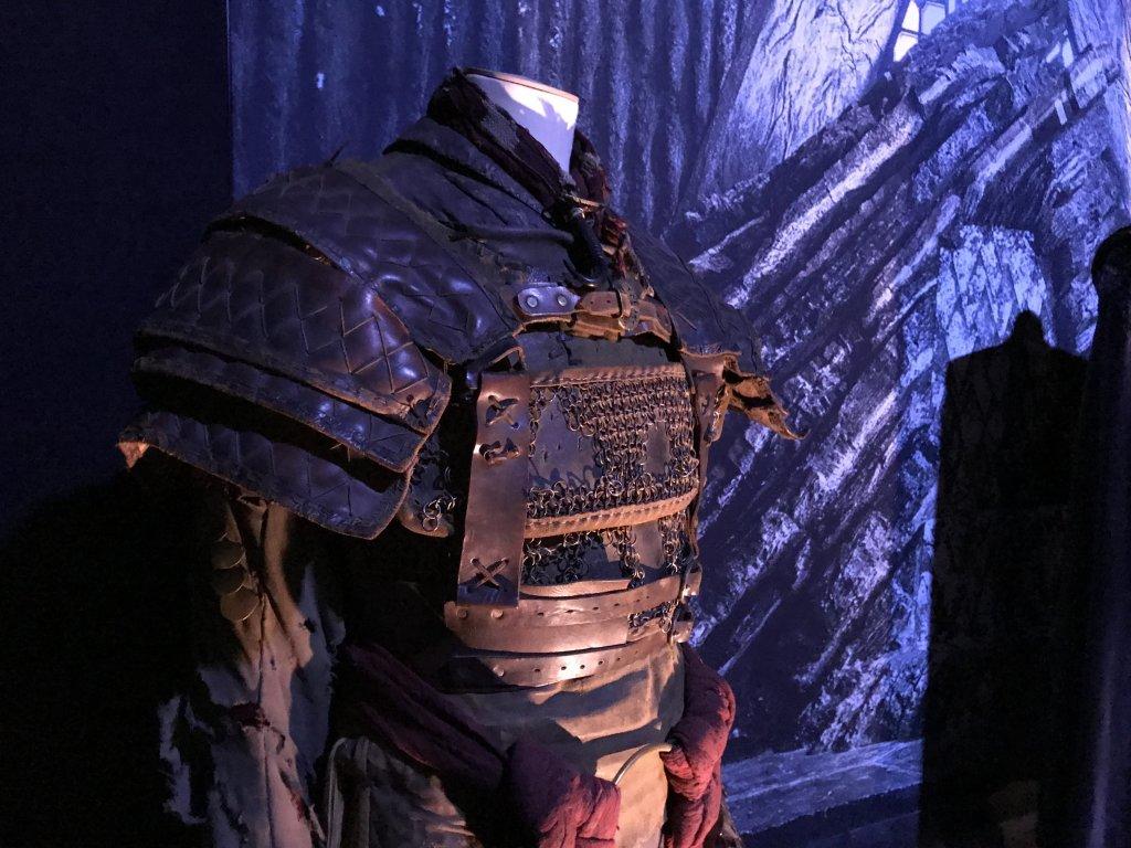 Vue de l'exposition Game of Thrones - Paris Expo Porte de Versailles