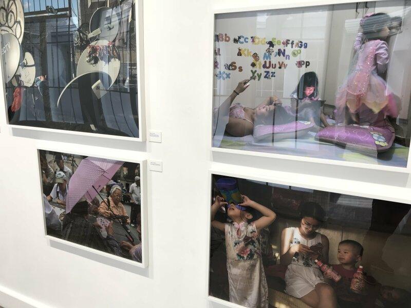 Vue de l'exposition Home, Seize photographes Magnum - Galerie Joseph (29)