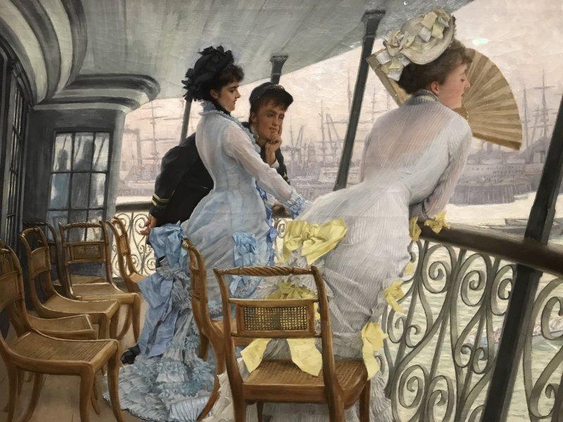 Vue de l'exposition Les Impressionnistes à Londres - Petit Palais