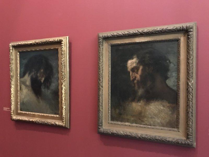 Vue de l'exposition Pietà, Gustave Moreau au Salon de 1852 - Musée national Gustave Moreau
