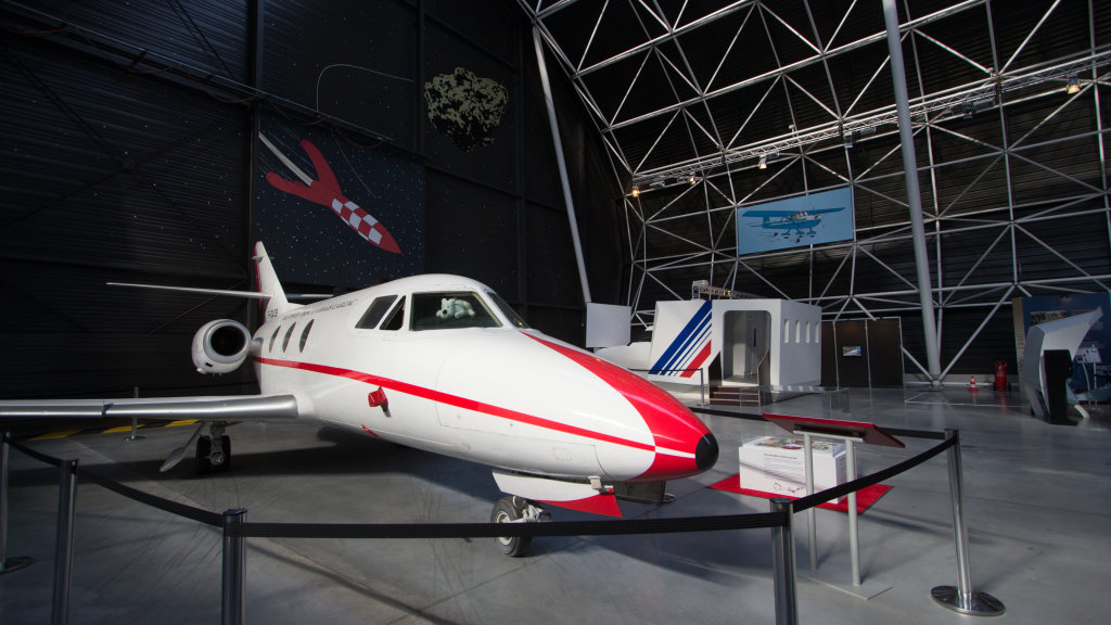Vue de l'exposition Tintin et ses avions - Musée Aeroscopia, Toulouse (16)