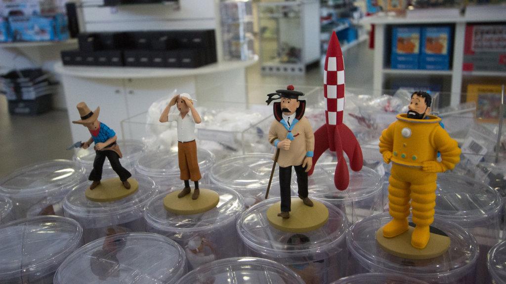 Vue de l'exposition Tintin et ses avions - Musée Aeroscopia, Toulouse (6)