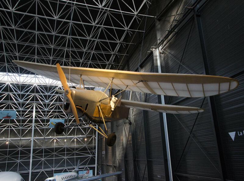 Vue de l'exposition Tintin et ses avions - Musée Aeroscopia, Toulouse (9)