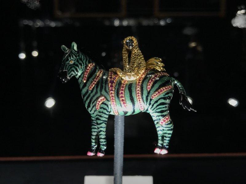 Vue de l'exposition Trésors d'Afrique - Salons Chaumet, Paris