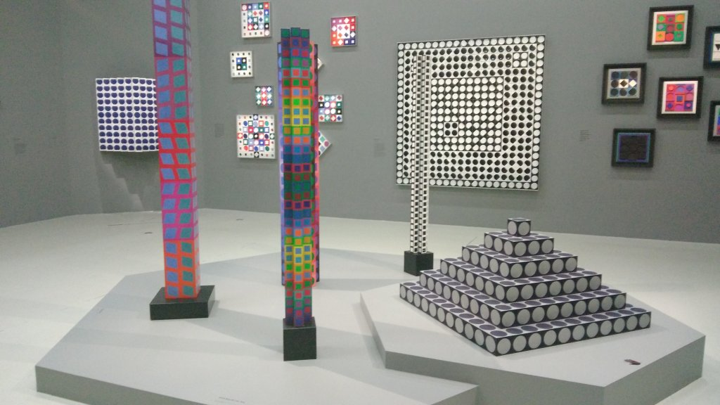 Vue de l'exposition Vasarely au Centre Pompidou, Paris (137)