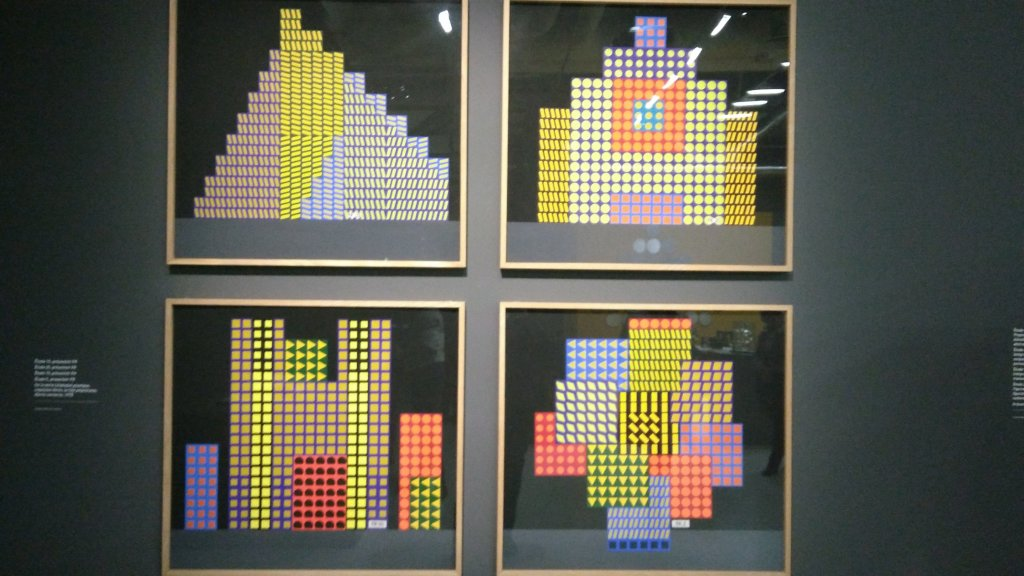 Vue de l'exposition Vasarely au Centre Pompidou, Paris (143)