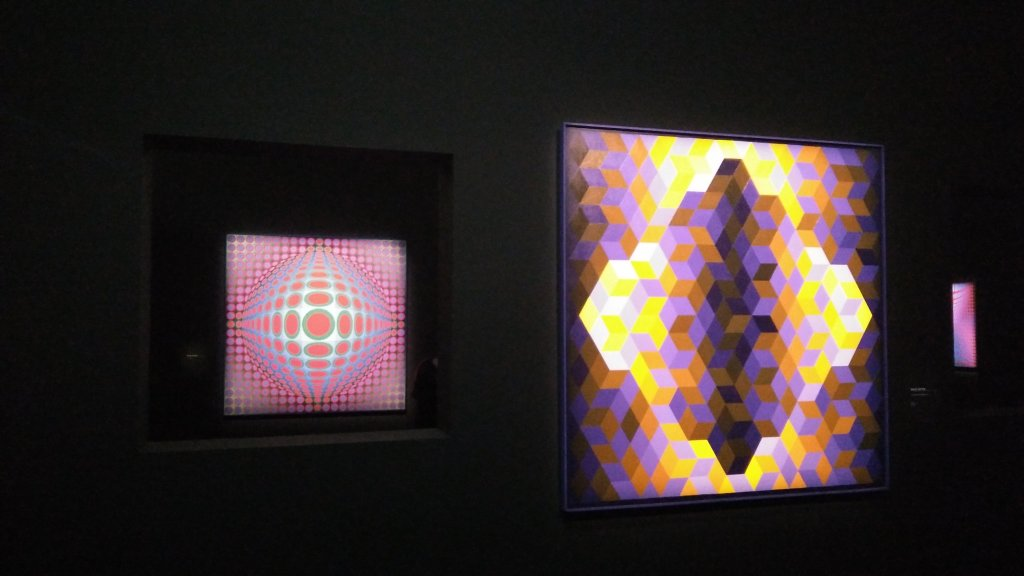 Vue de l'exposition Vasarely au Centre Pompidou, Paris (145)