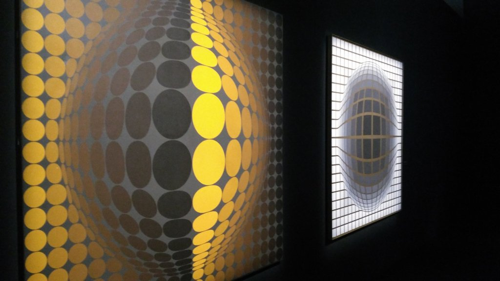 Vue de l'exposition Vasarely au Centre Pompidou, Paris (146)