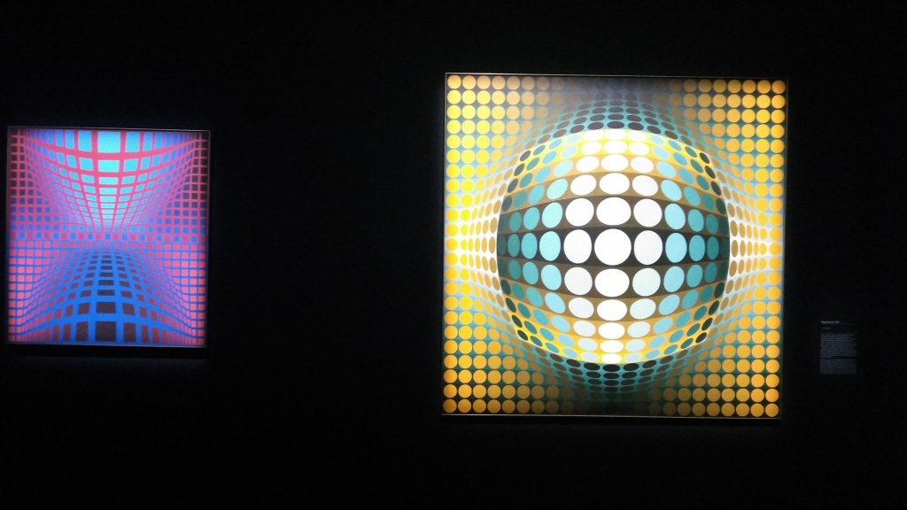 Vue de l'exposition Vasarely au Centre Pompidou, Paris (148)