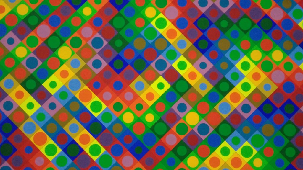 Vue de l'exposition Vasarely au Centre Pompidou, Paris (150)