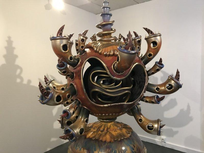 Vue de l'exposition Yoichiro Kawaguchi, L'univers des formes - Centre des arts d'Enghien