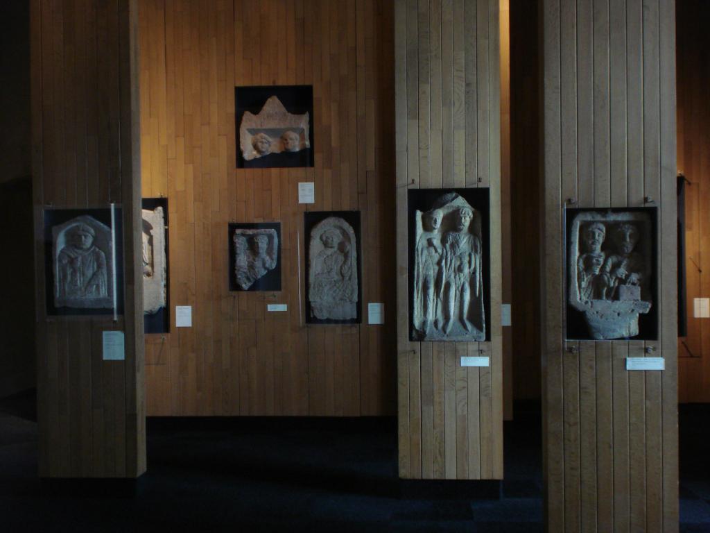 Vue des collections permanentes - Musée national d'archéologie, Saint Germain en Laye (16)