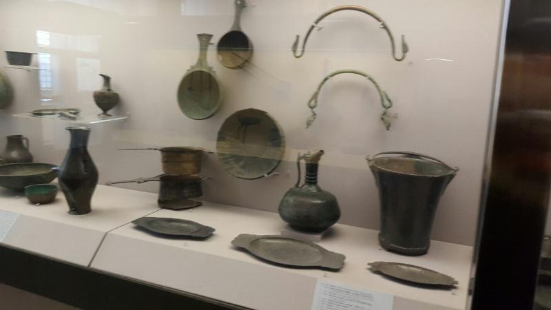 Vue des collections permanentes - Musée national d'archéologie, Saint Germain en Laye (19)