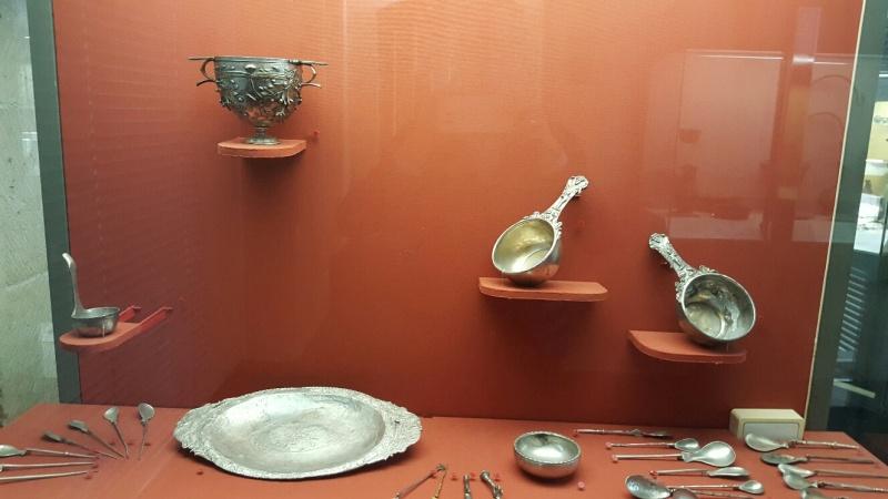 Vue des collections permanentes - Musée national d'archéologie, Saint Germain en Laye (21)