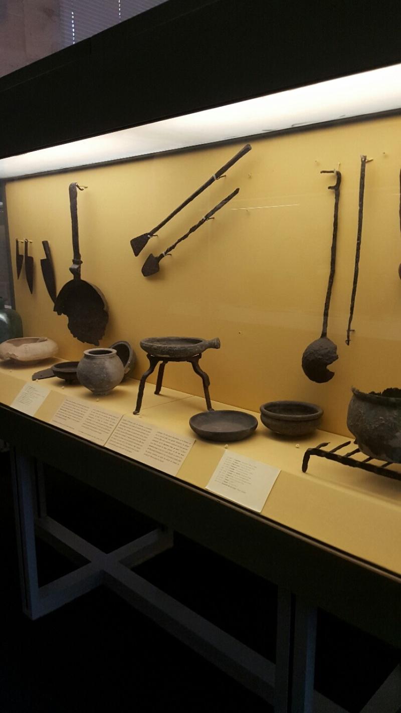 Vue des collections permanentes - Musée national d'archéologie, Saint Germain en Laye (22)
