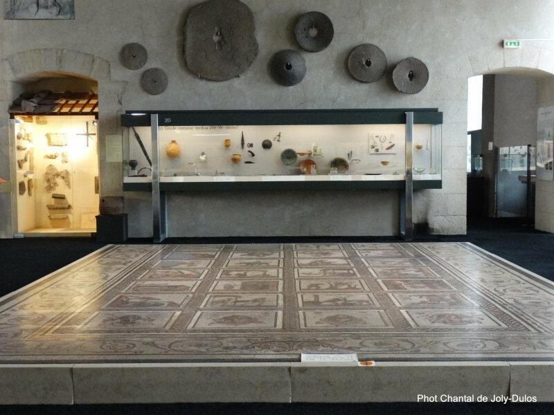 Vue des collections permanentes - Musée national d'archéologie, Saint Germain en Laye (23)