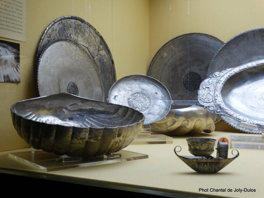Vue des collections permanentes - Musée national d'archéologie, Saint Germain en Laye (24)